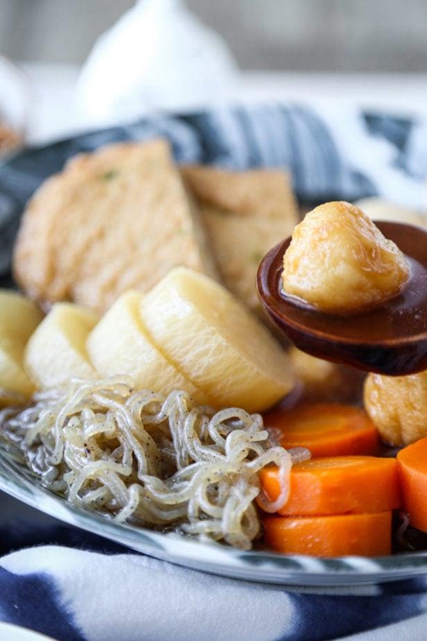 oden (Japanese fish cake stew)