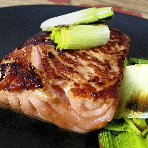 Japanese soy ginger salmon
