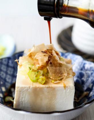 hiyayakko - Japanese cold tofu