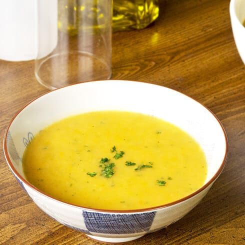 Ginger Parsnip Soup