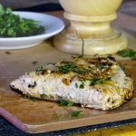 lemon ginger marinated salmon
