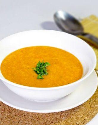 tomato cantaloupe cold soup