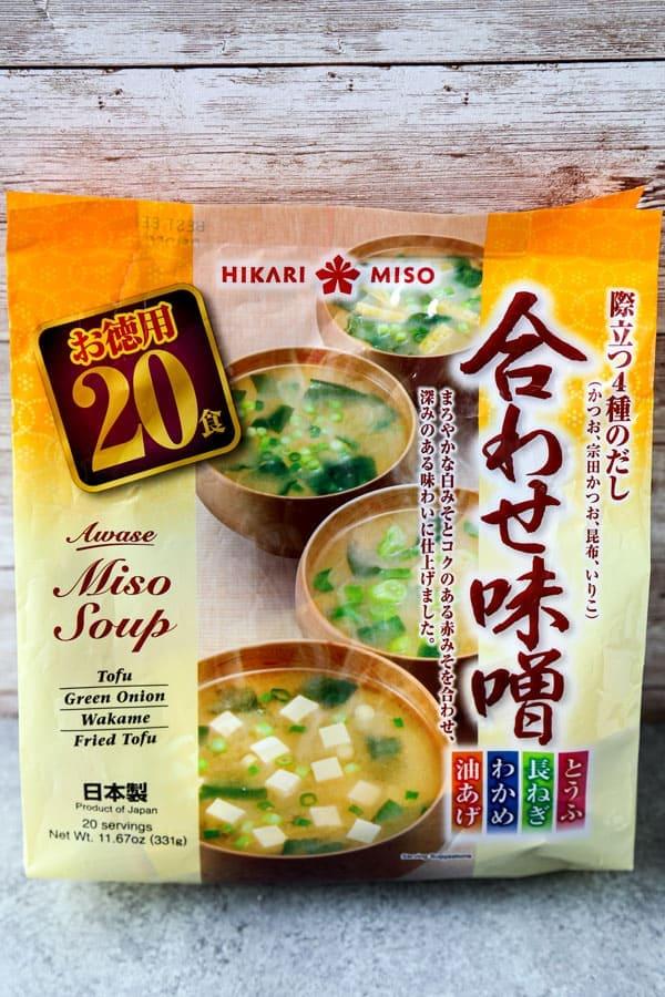 instant miso soup mix