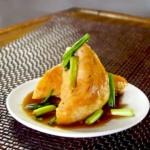 japanese teriyaki chicken with scallions