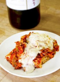 lasagna bechamel sauce