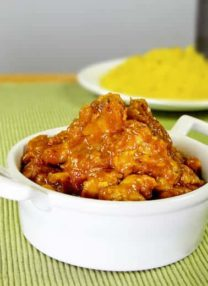 Jamie Oliver's pork vindaloo curry