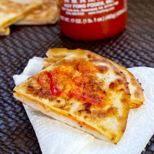Sriracha Quesadillas