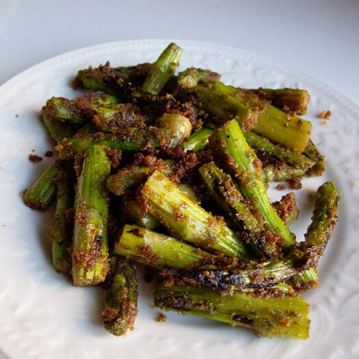 asparagus breadcrumbs