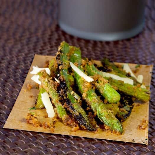 Charred Asparagus