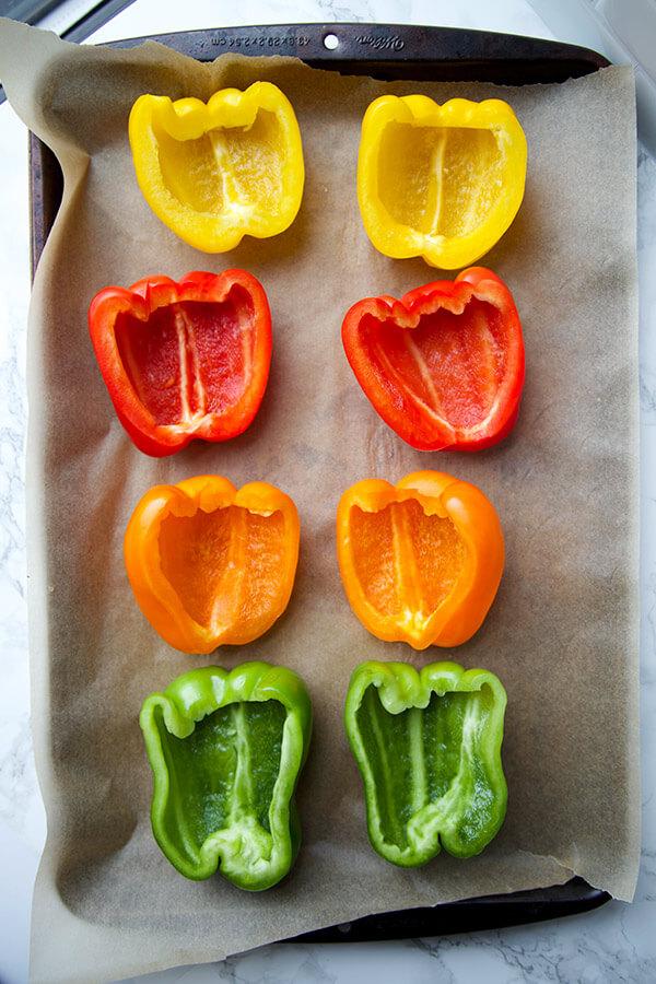 cut-peppers