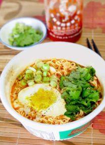 top ramen noodle soup