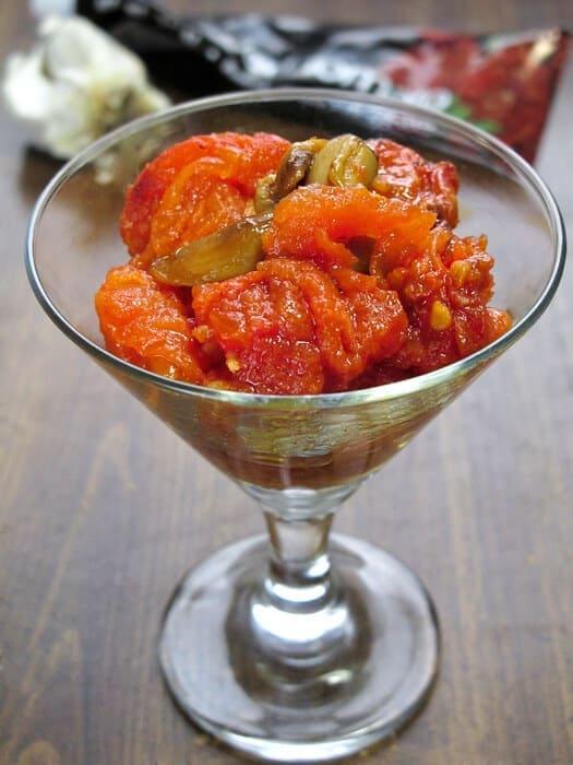 Confit tomatoes
