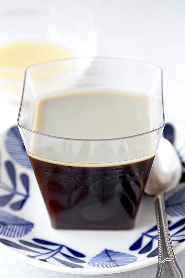 Japanese coffee jelly