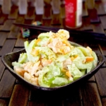spicy asian shrimp and celery salad
