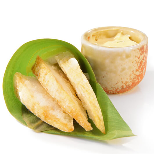 deep fried bamboo shoots