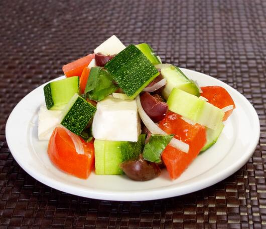 Zucchini Caprese Salad Recipe