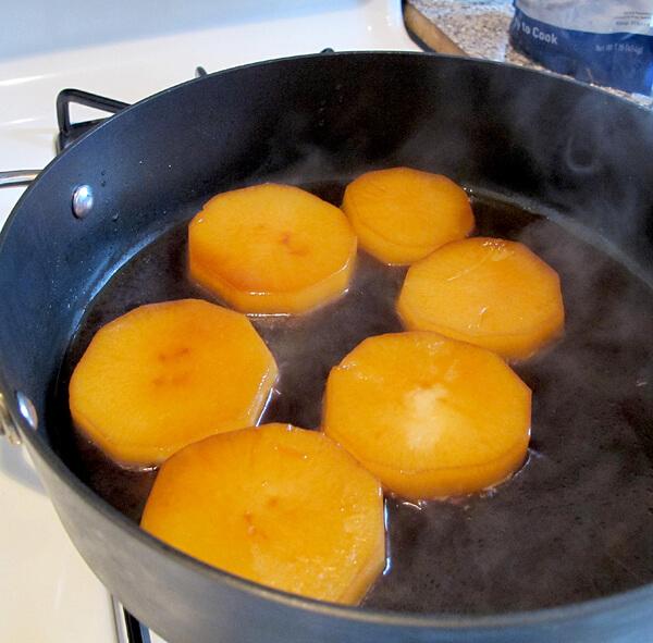 daikon soy simmering