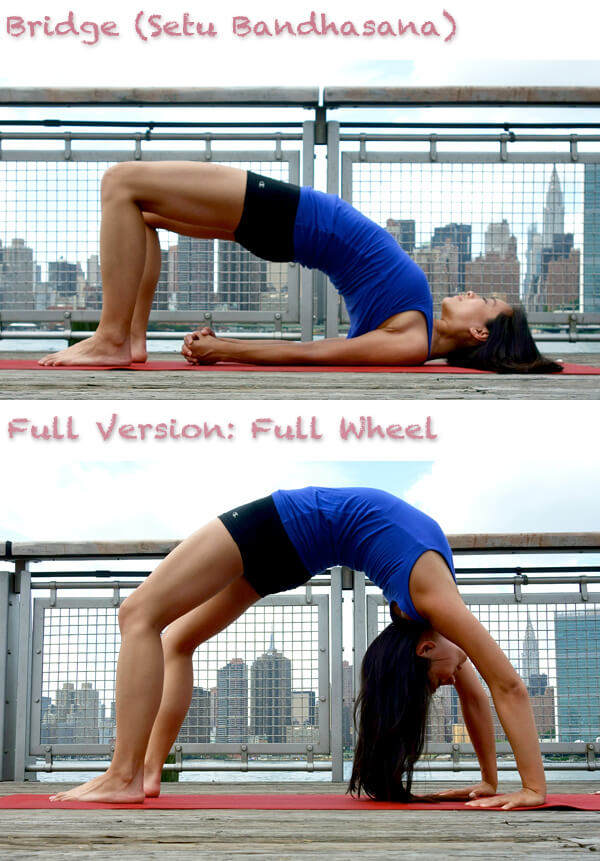 bridge pose anti aging yoga poses