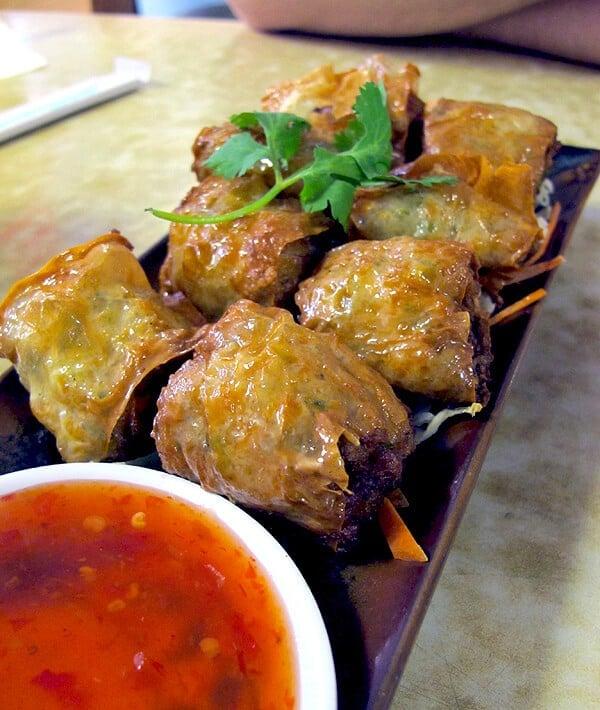 House special shrimp rolls