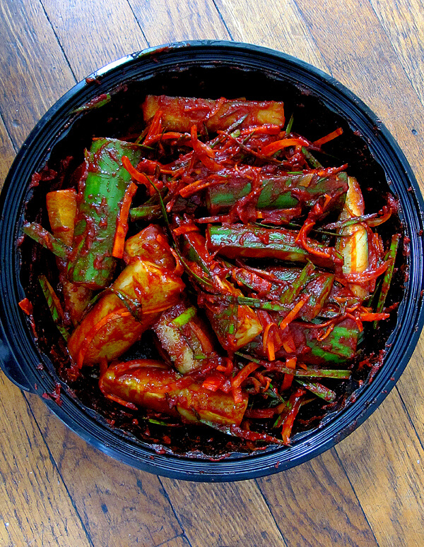 cucumber kimchi pickles