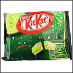 Japanese Kit Kat - Matcha Green Tea.