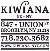 kiwiana biz card