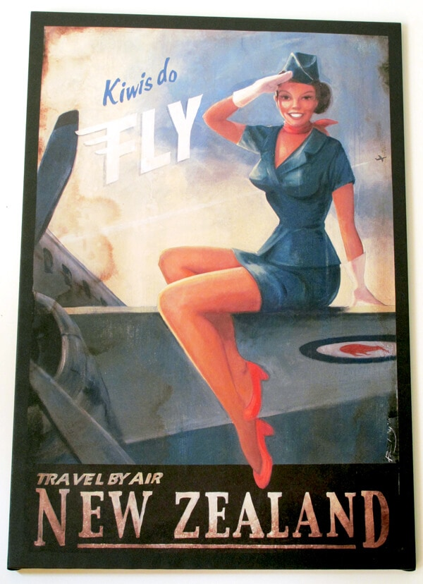 kiwiana poster