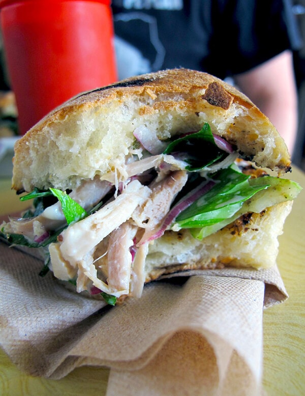 Lincoln station rotisserie chicken sandwich