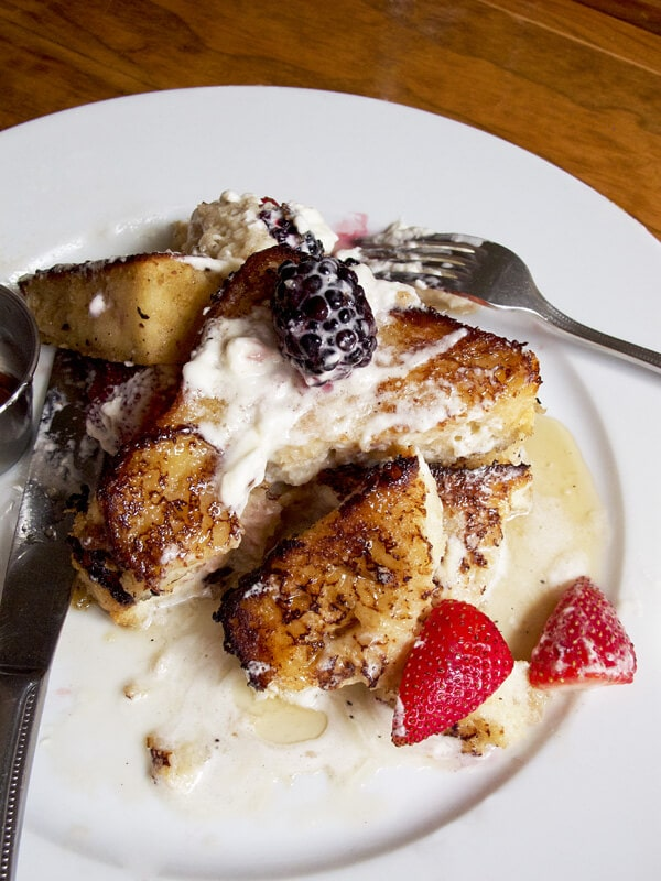 Spiced chai french toast kiwiana brooklyn