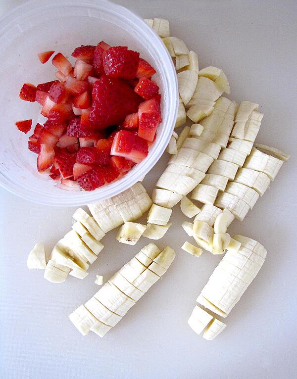 bananas strawberries