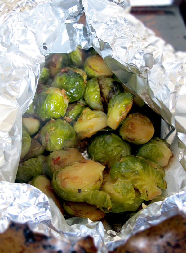 oven cooked brussel