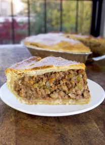 turkey meat pie