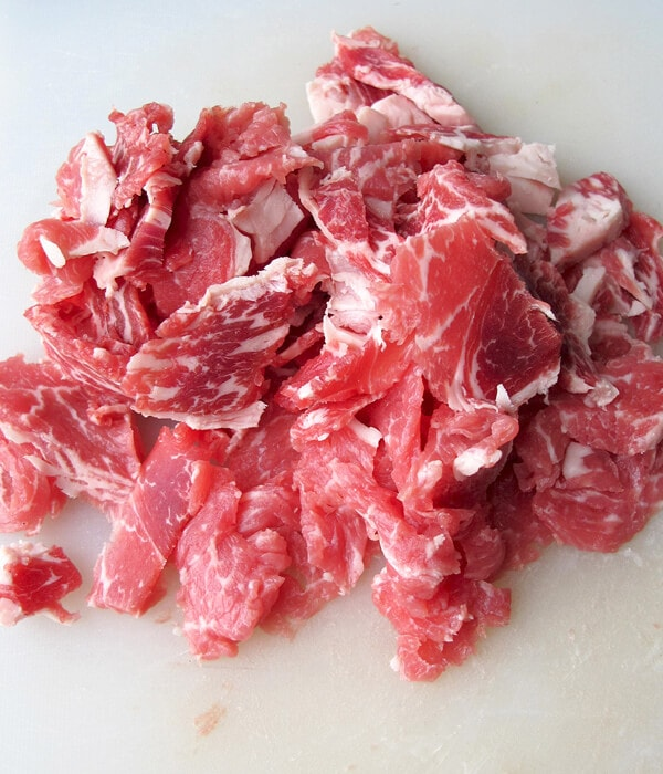 beef sliced