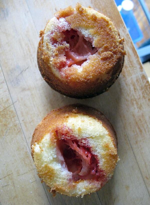muffins upside down