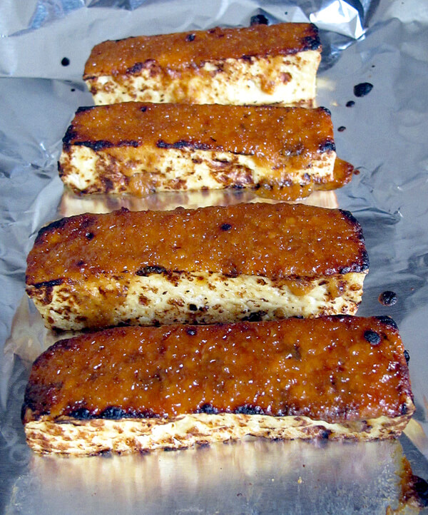 tofu broiled