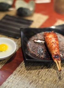 tsukune at yakitori Totto