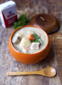 Japanese creamy chicken stew
