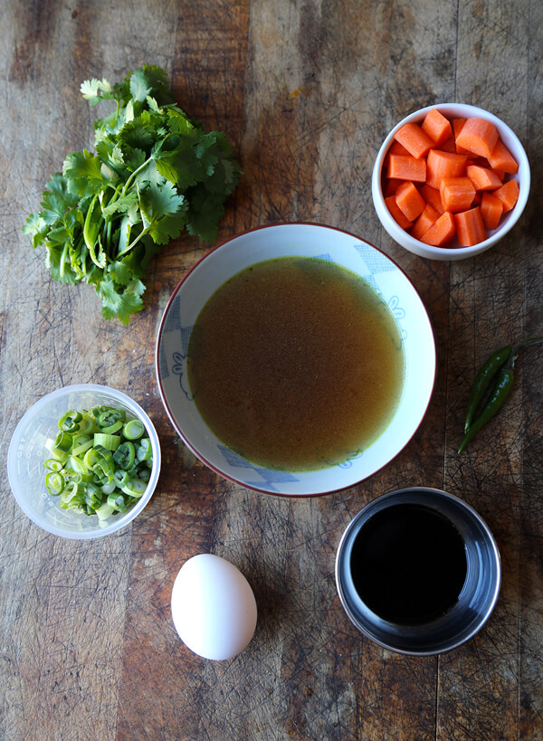 spicy soup ingredients