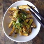Smoked Tofu with Asian Celery