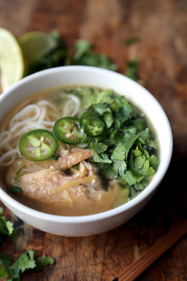 Roasted Chicken Pho Recipe Pickled Plum Food And Drinks