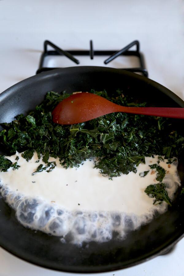kale-milk