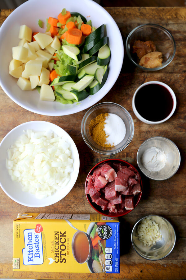 miso-curry-ingredients