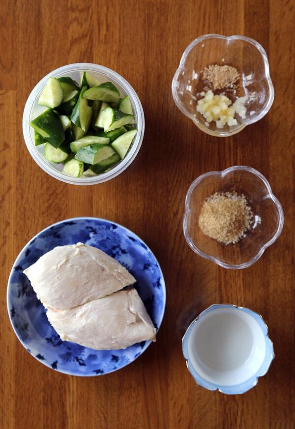 chicken-cucumber-ingredients