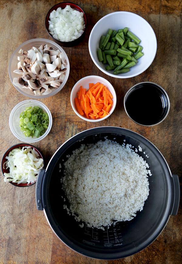 vegetable-rice-ingredients