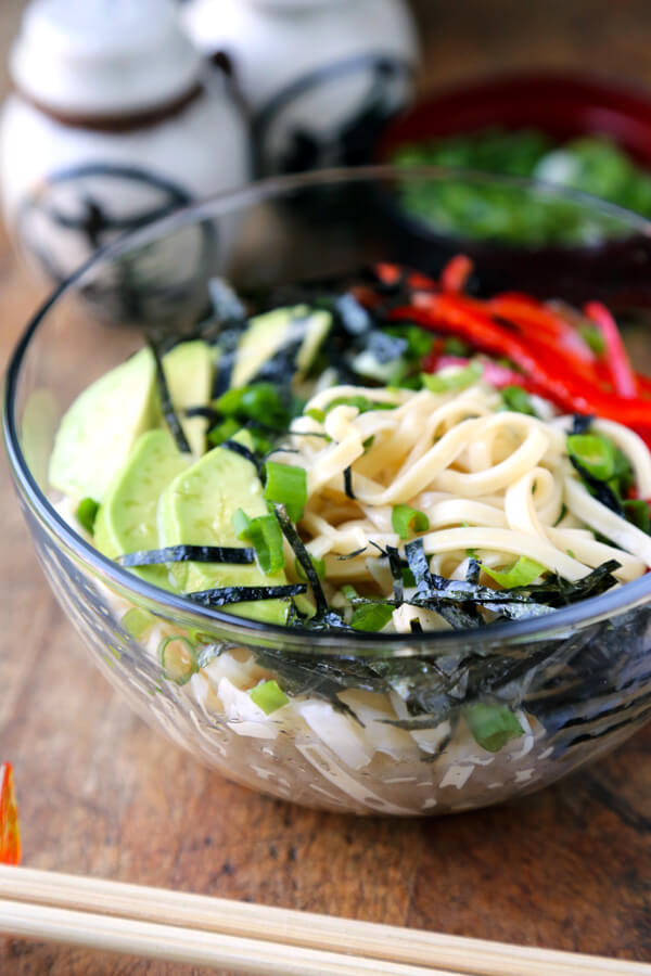 japanese ponzu sauce noodles