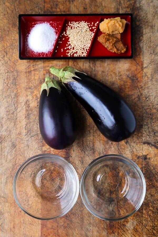 dengaku-ingredients