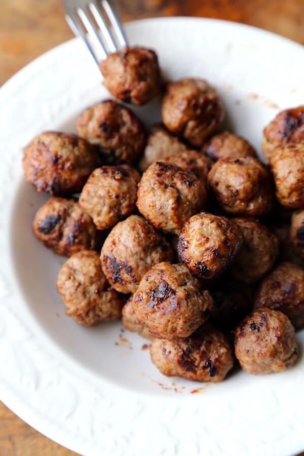 meatball-plate