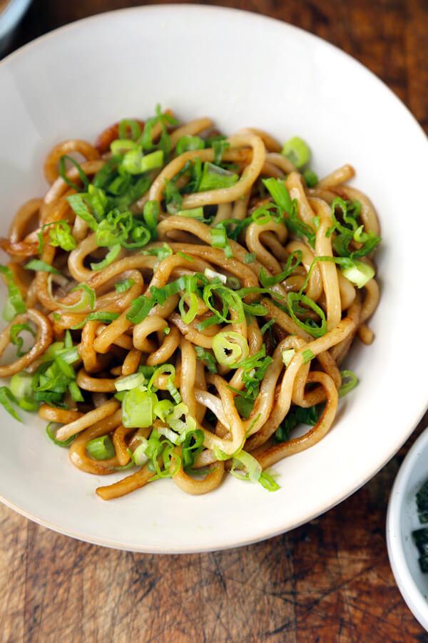 Yaki udon recipe