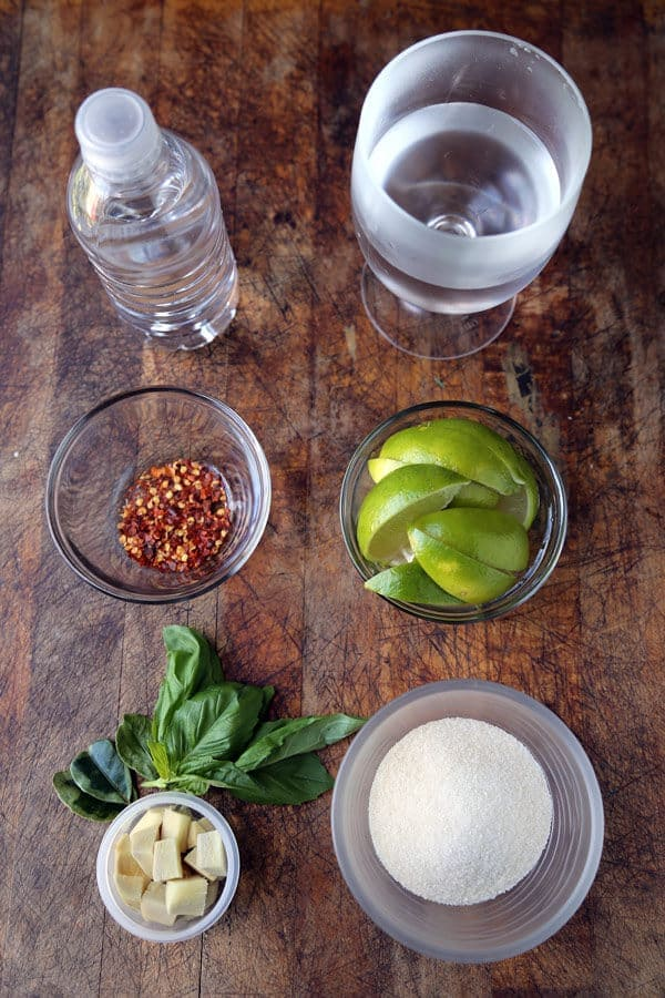 ginger soda ingredients