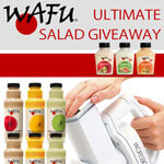Wafu salad dressings (CLOSED)